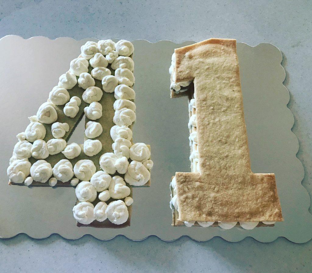 tort z cyferek
