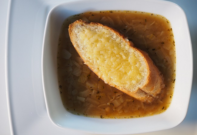 Francuska Zupa Cebulowa Calaresztapl